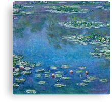 Claude Monet - Water Lilies (1906)  Canvas Print