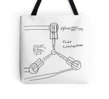 Flux Capacitor Drawing Tote Bag
