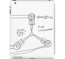 Flux Capacitor Drawing iPad Case/Skin