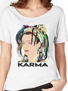 KARMA  Women's Relaxed Fit T-Shirt