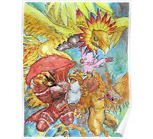 Digimon Adventure - Piyomon Poster