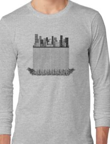 A city dissected 2 Long Sleeve T-Shirt