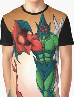 Yu-Gi-Oh! GX Elemental Hero Flame Wingman Graphic T-Shirt