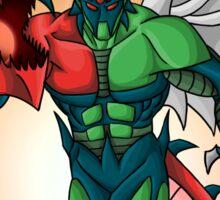 Yu-Gi-Oh! GX Elemental Hero Flame Wingman Sticker
