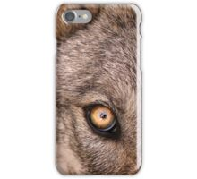 The Young Wolf's Gaze iPhone Case/Skin