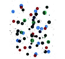 Ink Spots Photographic Print