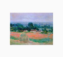 Claude Monet - Haystack At Giverny 1886 Unisex T-Shirt