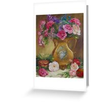 Seduction Floral Greeting Card