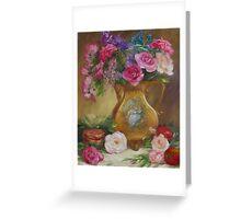Seduction Floral Greeting Card