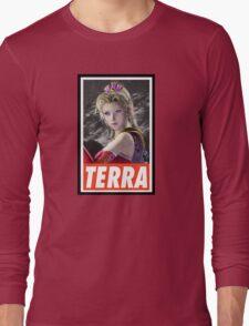 (FINAL FANTASY) Terra Long Sleeve T-Shirt