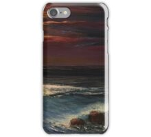 Last Rays of Sun Upon the Beach iPhone Case/Skin