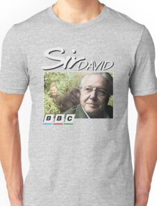 David Attenborough 90s Tee Unisex T-Shirt