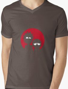 Rick and Morty Materialistic Mens V-Neck T-Shirt