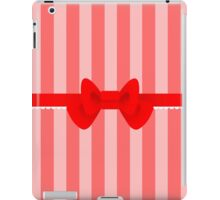 Simple bow -ver1 iPad Case/Skin