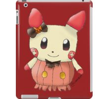 Halloween Plusle iPad Case/Skin