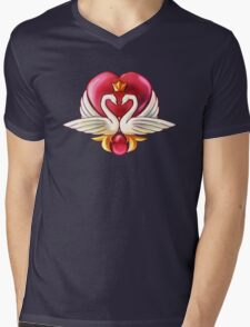 The Prince's Heart Mens V-Neck T-Shirt