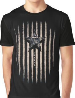 BOWIE-BLACKIE STAR Graphic T-Shirt