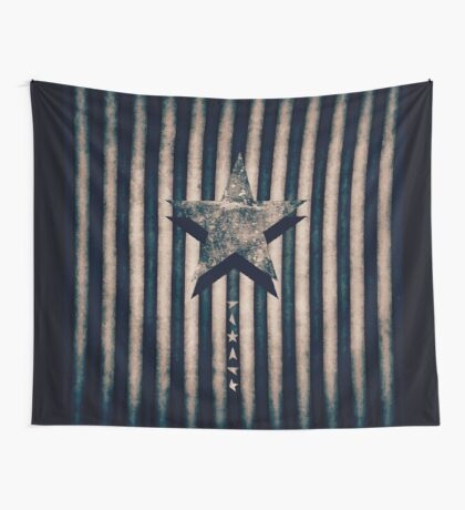 BOWIE-BLACKIE STAR Wall Tapestry
