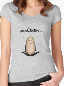 Meditater Women's Fitted Scoop T-Shirt