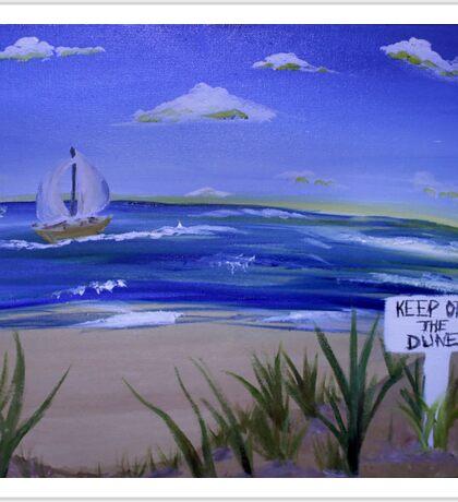 Keep Off the Dunes  Sticker