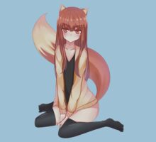 Horo - Spice And Wolf Kids Tee