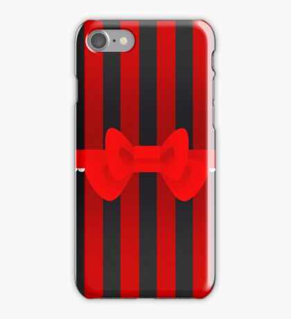 Simple bow -ver2 iPhone Case/Skin