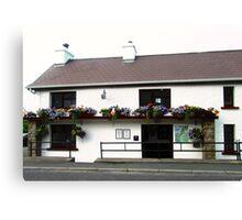 The Rusty Nail Pub, Inishowen Peninsular, Donegal, Ireland Canvas Print