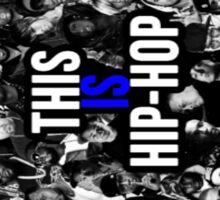 This is hip hop Sticker