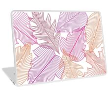 Red Leaves Fall Laptop Skin
