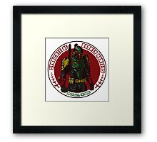 Syndicate Insignia Framed Print