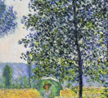 Claude Monet - Sunlight Effect Under The Poplars Sticker