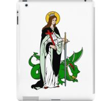 ST MARGARET OF ANTIOCH (ST MARINA AND ST MAGARITHA)   iPad Case/Skin