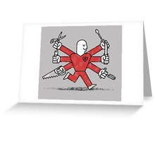 The Most Useful Man in Switzerland Greeting Card