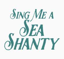Sing me a Sea Shanty Kids Tee