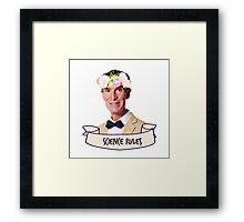 Bill Nye Science Rules Framed Print