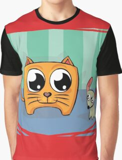 Of Mouse and Cat Graphic T-Shirt