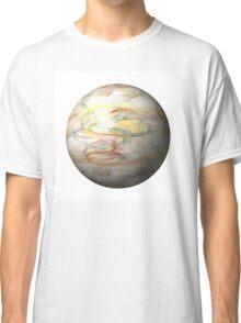 Fractal Globe Classic T-Shirt