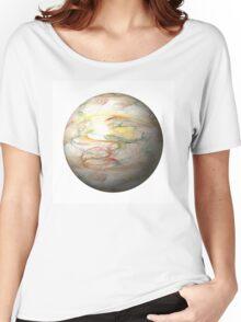 Fractal Globe Women's Relaxed Fit T-Shirt