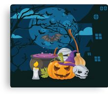High Quality Halloween design Tapestry and Candy Bag  Canvas Print