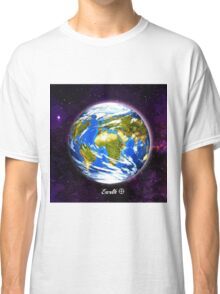 Planet Earth in Space Classic T-Shirt