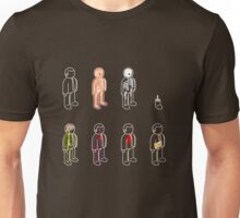 basic anatomy 101 Unisex T-Shirt