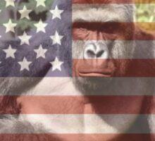 Stay Woke America - Harambe  Sticker