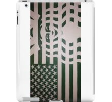 Coffee Americano: The 99 Banners Collection By Wesley Bennett & Four Horses And Six Guns iPad Case/Skin