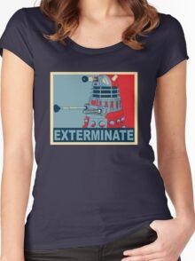 Dalek Hope Women's Fitted Scoop T-Shirt