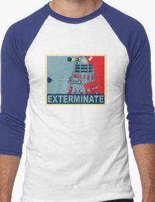 Dalek Hope Men's Baseball ¾ T-Shirt