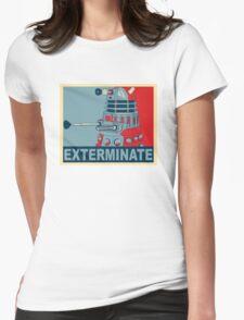 Dalek Hope Womens Fitted T-Shirt