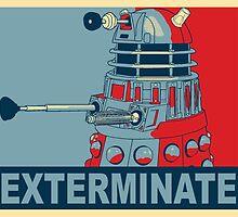 Dalek Hope by kayve