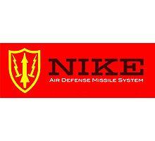 Nike Air Defense Missile System Emblem-Americana Photographic Print