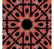 Red Pattern Photographic Print