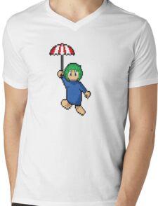 Lemming floating Mens V-Neck T-Shirt